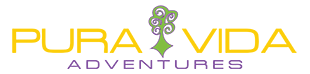 Pure Vida | Adventures | Guides | Rock Climbing | White Water Rafting | Canyoneering | Mountain biking | Kayaking | Hiking | Repelling | Asheville | Brevard | North Carolina Logo