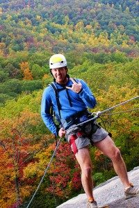 Canyoneeering and Rappelling North carolina