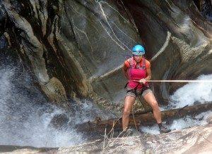 Rappellig Waterfalls
