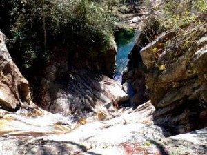 Waterfall Rappel North Carolina