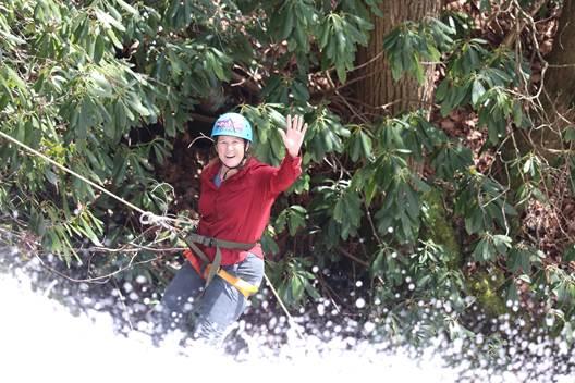 Canyoneering North Carolina : Cove Creek Canyon
