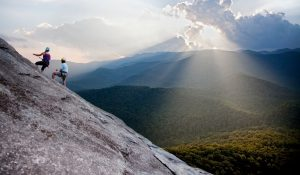 Climbing and rappelling guides north carolina