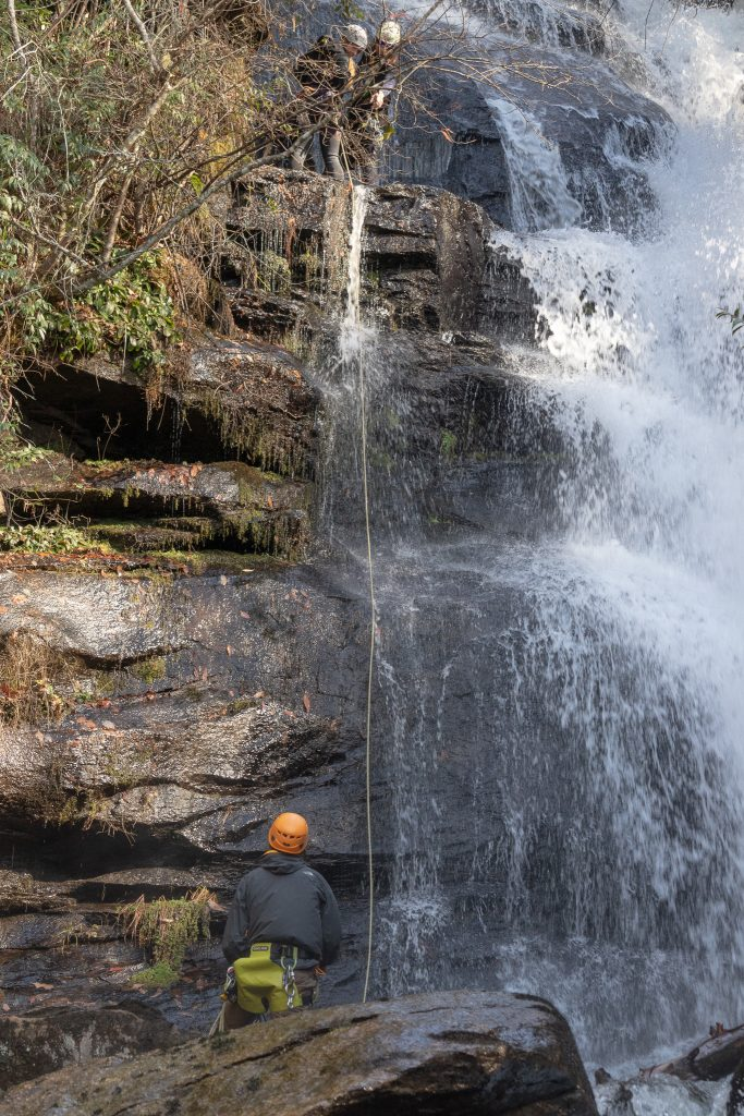 Canyoneering in Asheville