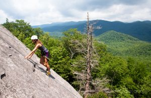 Guided rock climbing asheville